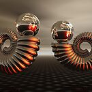 Where golden spirals meet by vivien styles