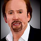Nicolas Cage by Andrew Wells
