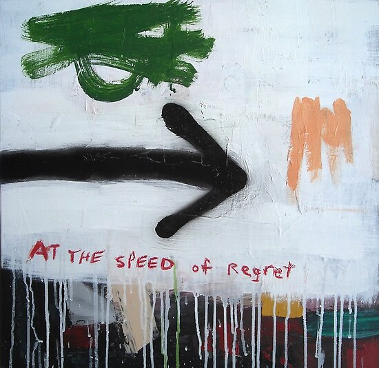 At the Speed of Regret by Alan Taylor Jeffries