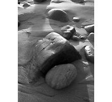 Rocks at Sunset Photographic Print