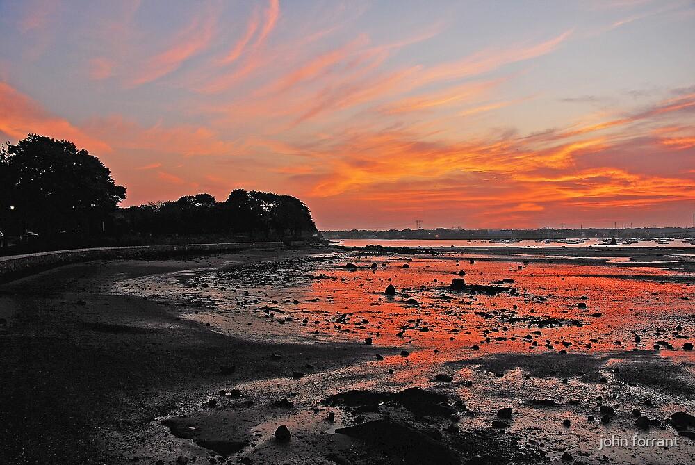 Dazzling Sunset by john forrant
