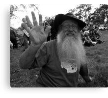Rally Roger Canvas Print