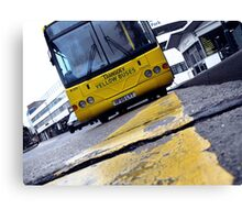 Yellow Bus Services  Canvas Print