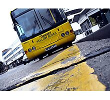 Yellow Bus Services  Photographic Print
