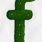 Topiary Alphabet &quot;f&quot; Coloured by Donnahuntriss