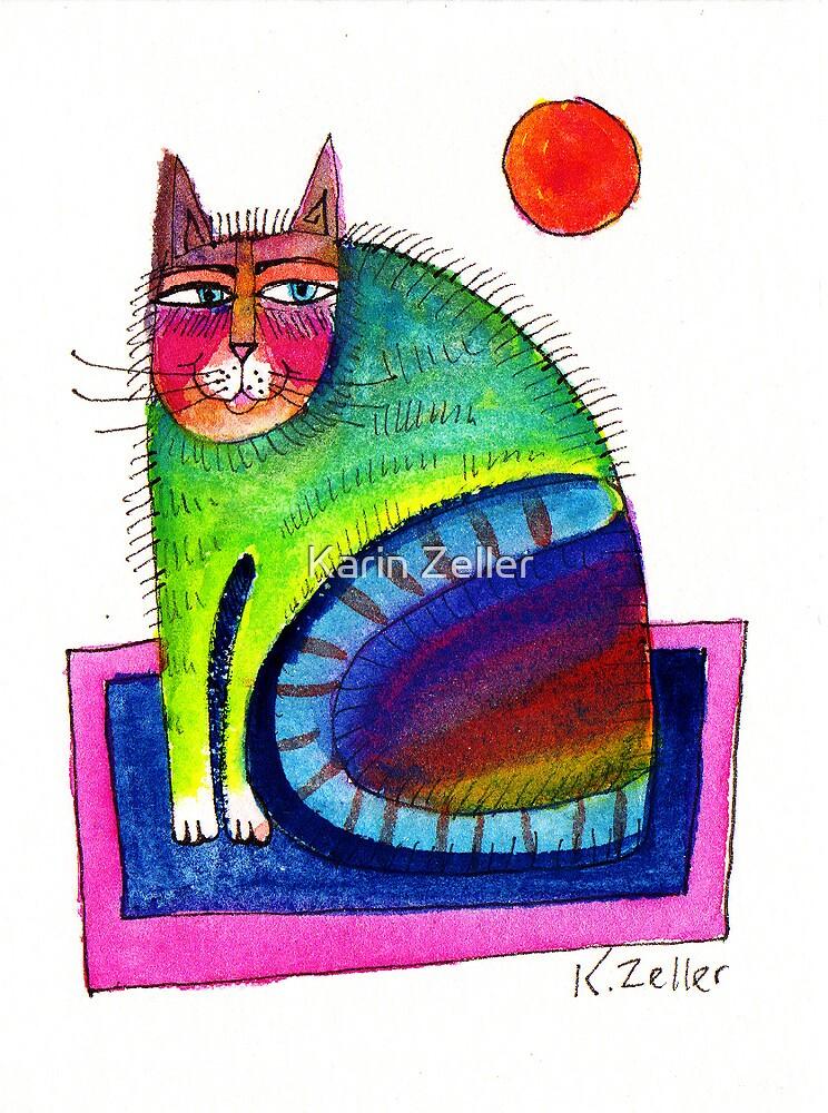 Mini Cat by Karin Zeller