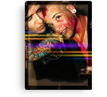 Sound Circus x3  Canvas Print
