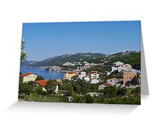 Neum, Bosnia Herzegovina Greeting Card
