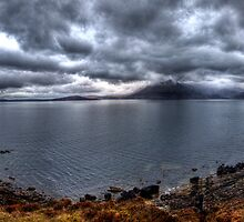 Loch Scavaig by Roddy Atkinson