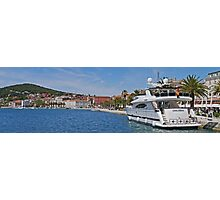 Waterfront at Split, Croatia (Panorama) Photographic Print
