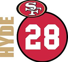 Carlos Hyde by KeithSwo