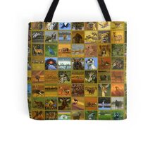 african wildlife Tote Bag
