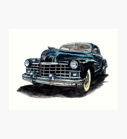 1947 Cadillac Art Print