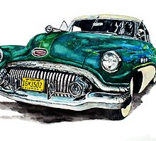1951 Buick by Ob-Art