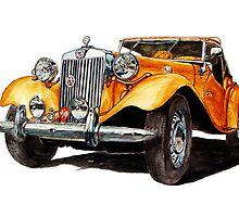 1951 MG-TD by Ob-Art