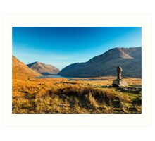 Doolough Valley Art Print
