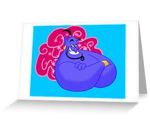 Never Had a Friend Like Me Greeting Card