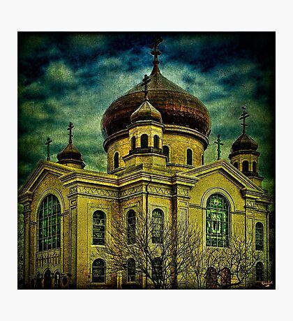 Russian Orthodox Cathedral, Williamsburg, Brooklyn Photographic Print