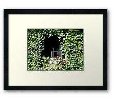Fairytale Window Framed Print