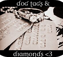 Dog Tags & Diamonds by Valfreyja