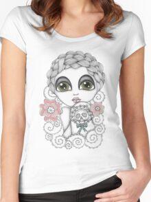 Rosalie Women's Fitted Scoop T-Shirt
