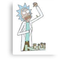 Rick and Morty-- Rick Pills Canvas Print