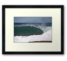 Perfect Empty Framed Print