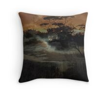 Into the crust. Throw Pillow