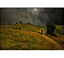 Hill Fort at Devil's Dyke  Photographic Print