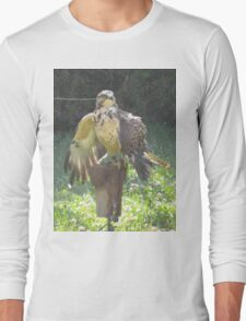 pompous swainson's hawk Long Sleeve T-Shirt