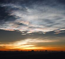 Sunset - Davis Station, Antarctica by southphotos