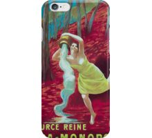 Leonetto Cappiello Affiche Source Reine iPhone Case/Skin