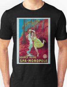 Leonetto Cappiello Affiche Source Reine T-Shirt