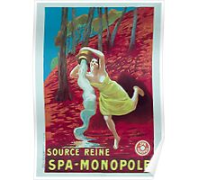 Leonetto Cappiello Affiche Source Reine Poster