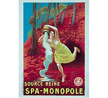 Leonetto Cappiello Affiche Source Reine Photographic Print