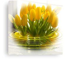 Yellow Tulip Bliss Canvas Print