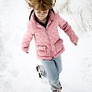Snow Running by nituathaill