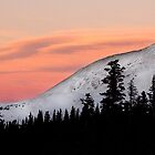 Sunset on the Ten Mile Range, Summit County, Colorado by Christina Macaluso Hammock