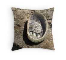 Shells down Cancel RocksSouthwest Australia Throw Pillow