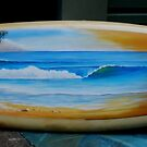 surfboard No 1 by Brian Tisdall