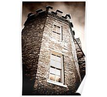 Fort Assiniboine Gothic Poster