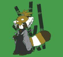 red panda Samurai by nut-case