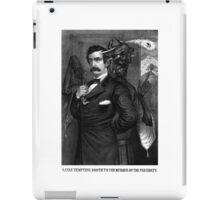 Satan Tempting John Wilkes Booth iPad Case/Skin