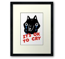 Cry, Wolf Framed Print