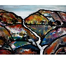 Landscape - Abstract Collage 2011 Photographic Print
