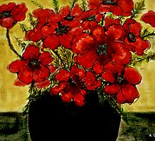 Red Anemones  by ange2