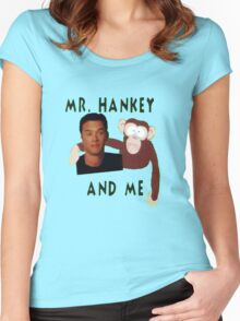 Mr. Hankey and Me Women's Fitted Scoop T-Shirt