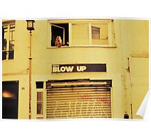 Blow Up, Paris, girl smoking at her window. Poster