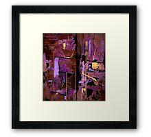 """Treasure Map"" Framed Print"