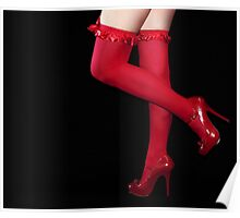 Red Stockings01 Poster